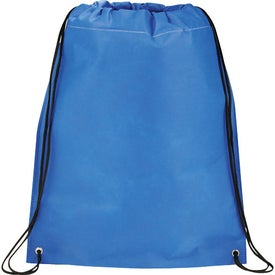 Large Champion Drawstring Cinch Backpack for Marketing