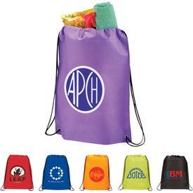Branded Large Champion Drawstring Cinch Backpack