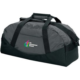 Branded Large Classic Cargo Duffel