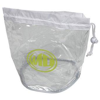 Large Clear Drawstring Bag