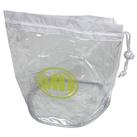 Large Clear Drawstring Bags