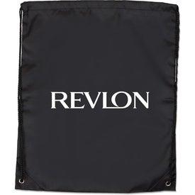 Large Drawstring Backpack for Advertising