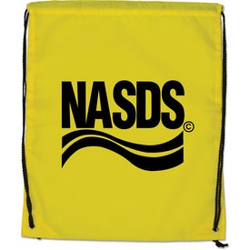 Branded Large Drawstring Backpack
