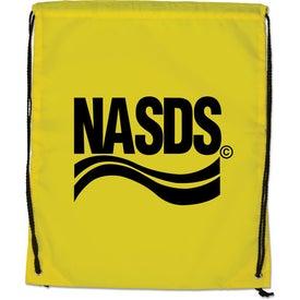 Branded Large Drawstring Backpack