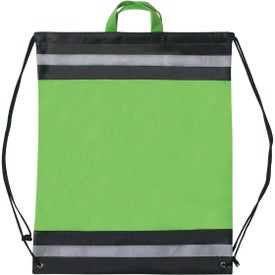 Large Non-woven Reflective Hit Sports Pack Branded with Your Logo