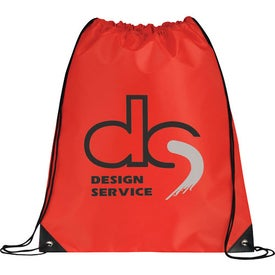 Large Oriole Drawstring Cinch Backpack for Your Organization