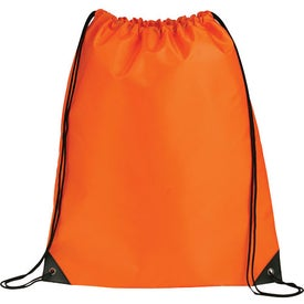 Large Oriole Drawstring Cinch Backpack Imprinted with Your Logo
