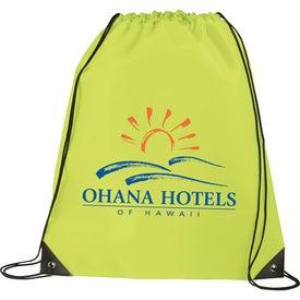 Promotional Large Oriole Drawstring Cinch Backpack