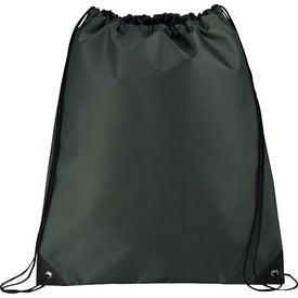 Large Oriole Drawstring Cinch Backpack for Promotion