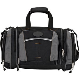 Printed Large Sports Duffel Bag