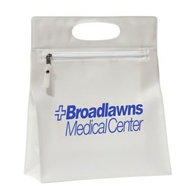 Large Zippered Amenities Bag