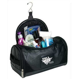 Leather Sidekick Amenities Kit