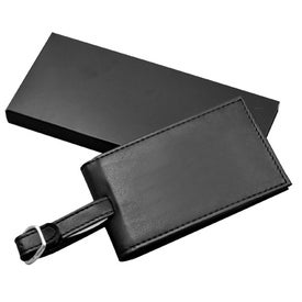 Leatherette Luggage Tag Double Giveaways