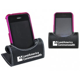 Logo Leatherette Phone Caddy