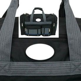 Lecta Duffel Bag Imprinted with Your Logo