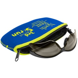L.E.N.S. Large Eyewear Neoprene Storage Bag (Screen Print)