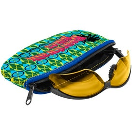 L.E.N.S. Large Eyewear Neoprene Storage Bag (Full Color Logo)