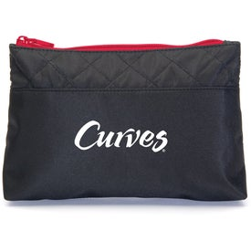 Monogrammed Let's Make-Up Bag