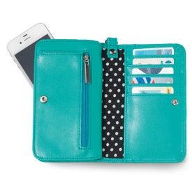 Printed Lexi Wristlet Wallet
