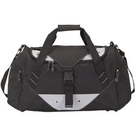 Lg Sports Duffel Bag with Your Slogan