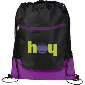 Custom The Libra Drawstring Cinch Backpack