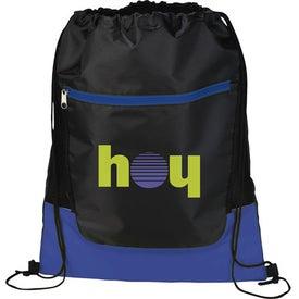 Logo The Libra Drawstring Cinch Backpack