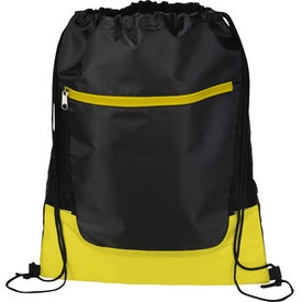 The Libra Drawstring Cinch Backpack Imprinted with Your Logo