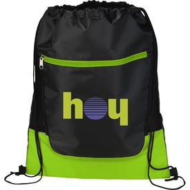 The Libra Drawstring Cinch Backpack for Marketing