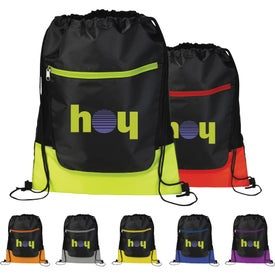 The Libra Drawstring Cinch Backpack for Your Organization