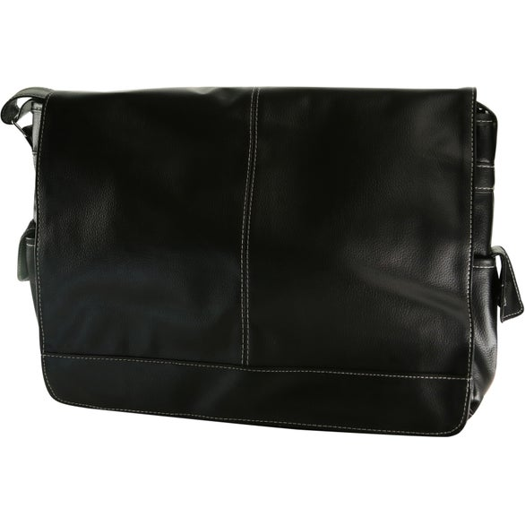 Black Lichee Messenger Bag
