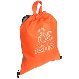 Glide Right Drawstring Bag with Your Logo
