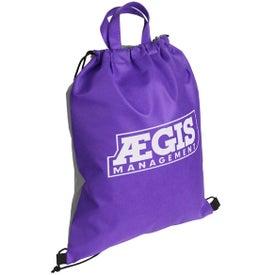 Advertising Glide Right Drawstring Bag