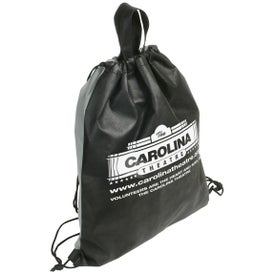 Monogrammed Glide Right Drawstring Bag