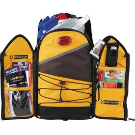 Imprinted Life Gear Wings Of Life Backpack Disaster Kit