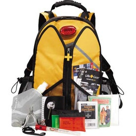 Customized Life Gear Wings Of Life Backpack Disaster Kit