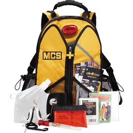 Promotional Life Gear Wings Of Life Backpack Disaster Kit