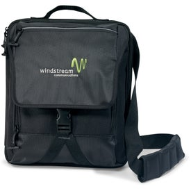 Life in Motion Netbook Vertical Messenger Bag for Your Organization