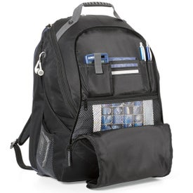 Printed Life in Motion Computer Backpack