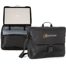 Branded Life in Motion Computer Messenger Bag