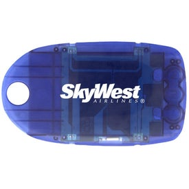 Promotional Light Up Luggage Tag