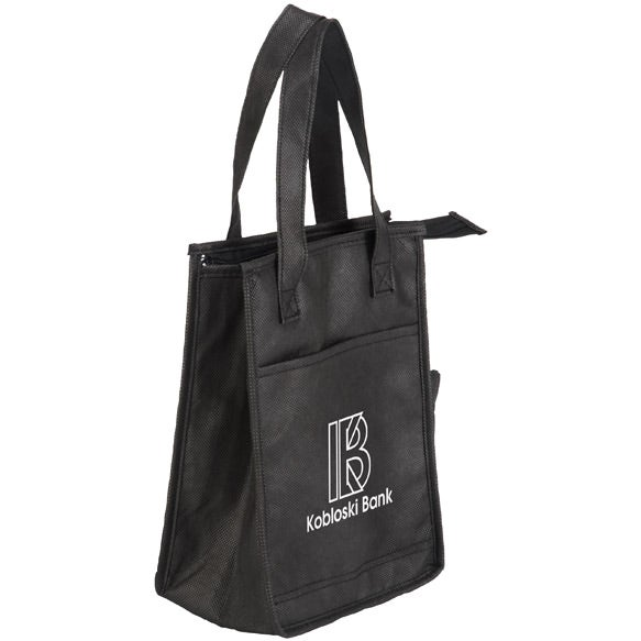 Black Lightning Sack Insulated Lunch Bag Company