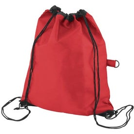 Lightweight Drawstring Pack with Your Slogan