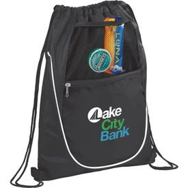 The Locker Drawstring Cinch Backpack with Your Logo