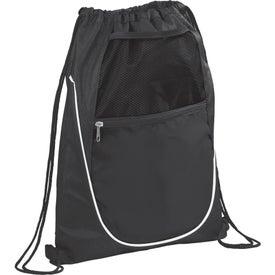 Printed The Locker Drawstring Cinch Backpack