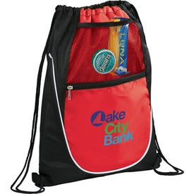 Imprinted The Locker Drawstring Cinch Backpack
