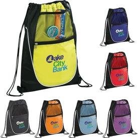 Advertising The Locker Drawstring Cinch Backpack