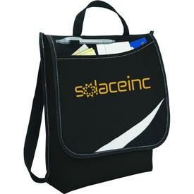 Logic Messenger Bag with Your Slogan