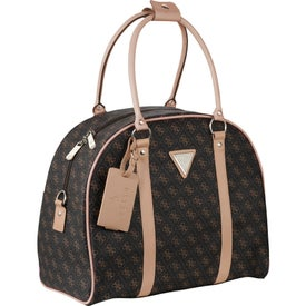 Guess Logo Affair Dome Travel Tote Bag