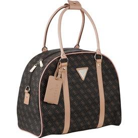Guess Logo Affair Dome Travel Tote Bag