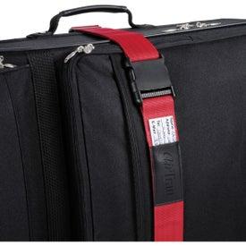 Imprinted Luggage Strap / Bag Identifier